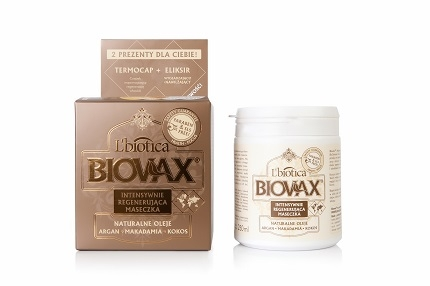 BIOVAX Maseczka argan/makadamia 250 ml