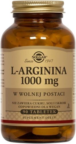 SOLGAR L-arginina 1000 mg  90 tabl.