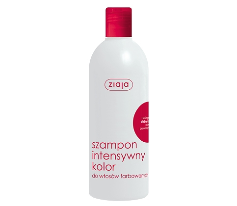 ZIAJA szampon olej rycyn. 400 ml