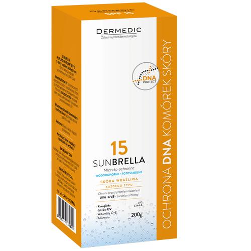 DERMEDIC SUNBRELLA  SPF 15+ Mleczko 200g