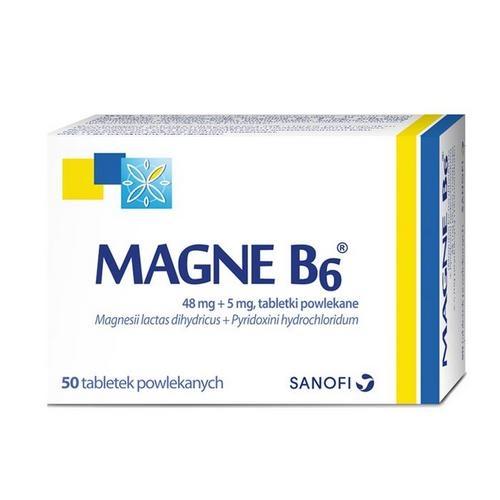 Magne B6 tabl.powl. 50 tabl.