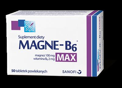 Magne-B6 Max tabl. 50 tabl.