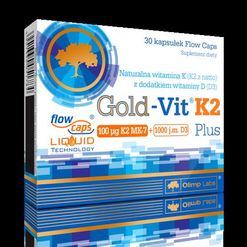 Olimp Gold-Vit K2 Plus kaps. 30 kaps.
