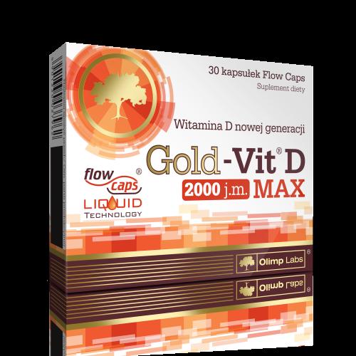 OLIMP Gold-Vit D Max kaps. 30 kaps.