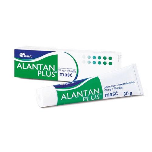 Alantan -Plus maść 30 g | Apteka internetowa, antyperspirant, avent, bioderma, bioliq, canpol, cera trądzikowa preparaty, dermokosmetyki, geriavit, grzybica leki bez recepty, himalaya, kreon, leki bez recepty, leki na grypę, leki na przeziębienie, leki na uspokojenie, mascara med., maxigra go, maxon, mensil, mugga, mustela, odchudzanie leki, odporność, pirolam, tabletki na ból gardła, test ciążowy, tran mollers, vichy, witamina d, wszy preparaty, zapalenie stawów, zestawy kosmetyków, ziaja