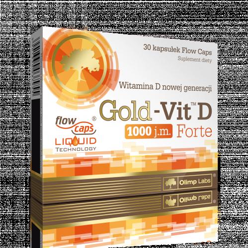 OLIMP Gold-Vit.D Forte kaps. 30 kaps.