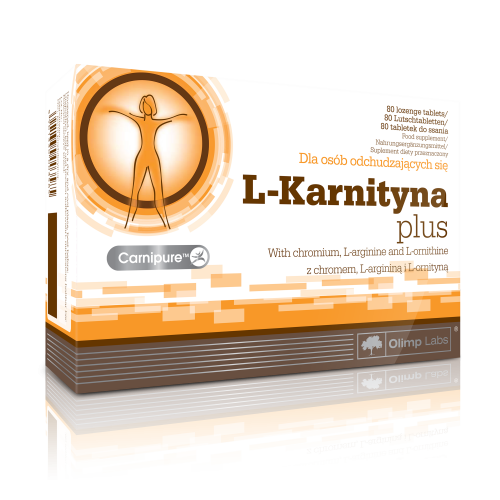 Olimp L-Karnityna Plus tabl. 0,3g 80tabl.
