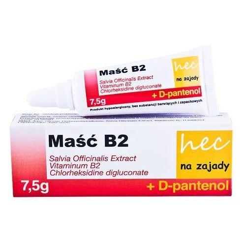 Maść B2 hec na zajady tub.w karton. 7,5g | Apteka internetowa, antyperspirant, avent, bioderma, bioliq, canpol, cera trądzikowa preparaty, dermokosmetyki, geriavit, grzybica leki bez recepty, himalaya, kreon, leki bez recepty, leki na grypę, leki na przeziębienie, leki na uspokojenie, mascara med., maxigra go, maxon, mensil, mugga, mustela, odchudzanie leki, odporność, pirolam, tabletki na ból gardła, test ciążowy, tran mollers, vichy, witamina d, wszy preparaty, zapalenie stawów, zestawy kosmetyków, ziaja