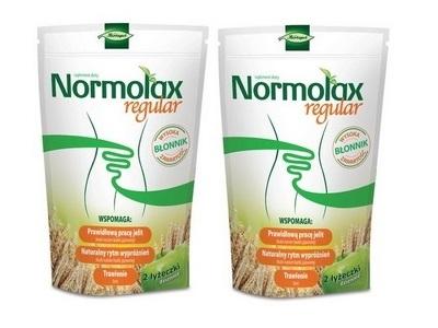 Normolax Regular smak jabłkowy 100g+100g