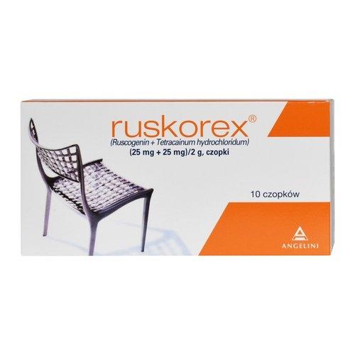 Ruskorex czop. 10 czop.