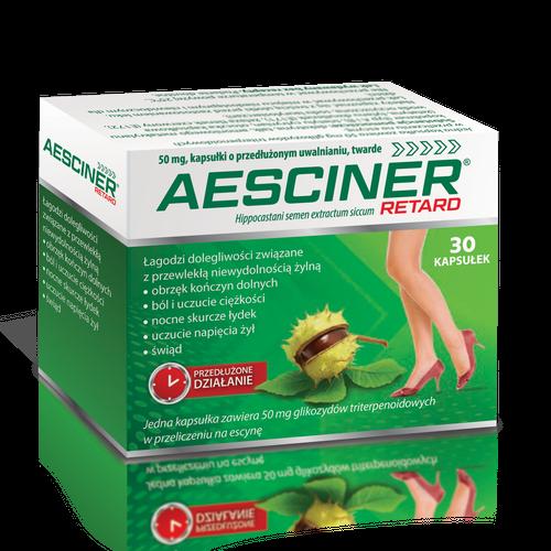 Aesciner Retard kaps.oprz.uw.0,265g 60kaps