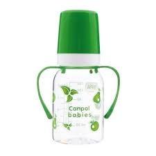 CANPOL Butelka niem.120ml +uchwyt (BPA 0%)