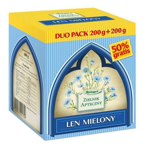 Len mielony duopac 2x200g Herb. Lublin