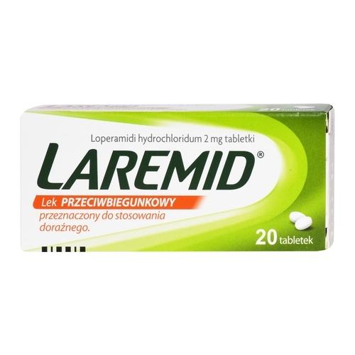 Laremid tabl. 2 mg 20 tabl.