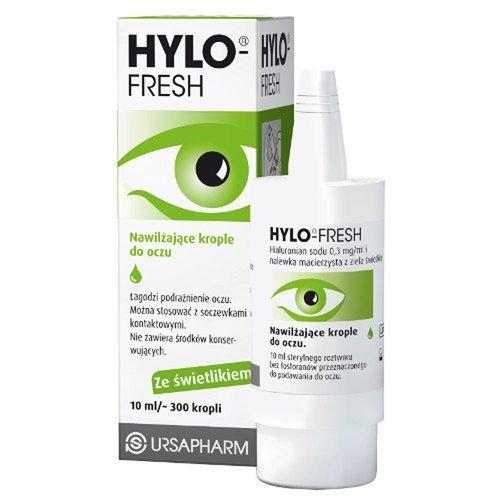 Hylo-Fresh krop.do oczu 10 ml