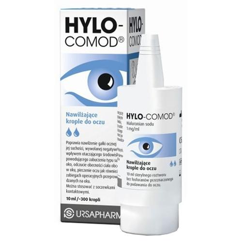 Hylo-Comod krop.dooczu 10ml