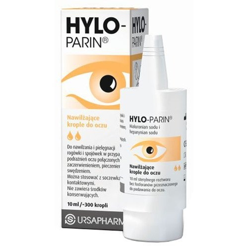 Hylo-Parin krop.do oczu 10 ml