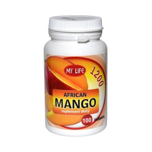 African Mango 1200 tabl. 100 tabl.