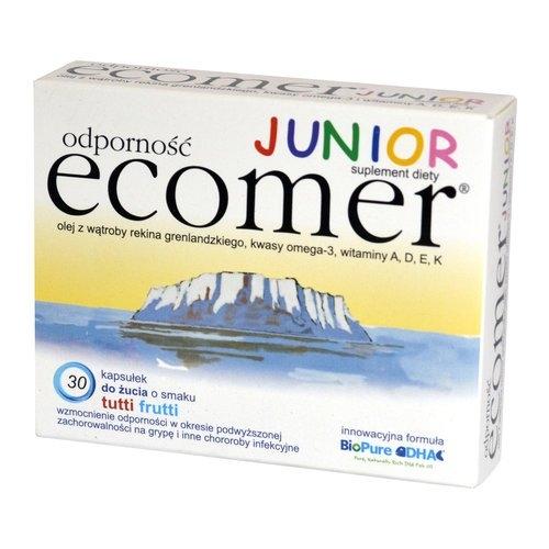 Ecomer Odporność junior kaps 30 kaps.