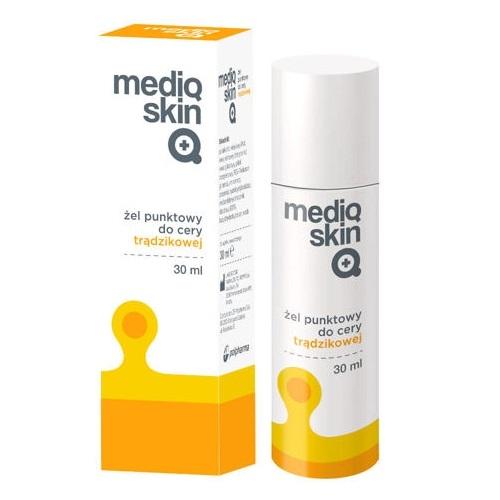 Mediqskin Żel punkt.d/cery trądz. 30 ml