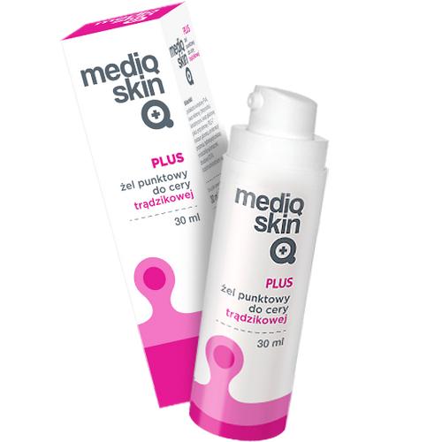 Mediqskin Plus Żel punkt.d/cery trądz.30ml