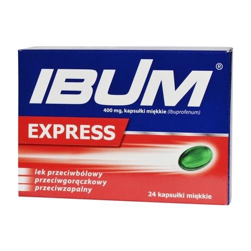 Ibum Express kaps.miękkie 0,4 g 24 kaps.