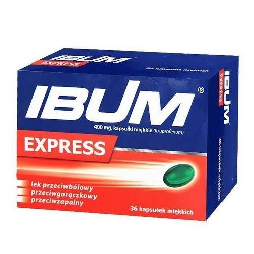 Ibum Express kaps.miękkie 0,4 g 36 kaps.