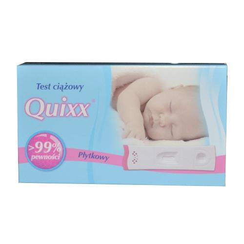 Test ciążowy QUIXX płytkowy 1 szt.