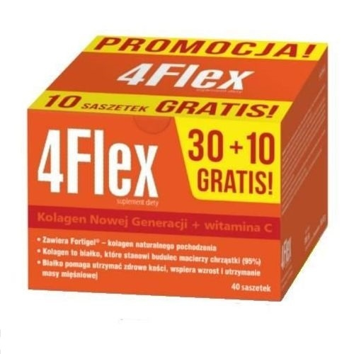 4 Flex 30 sasz.+10 gratis 1 op.