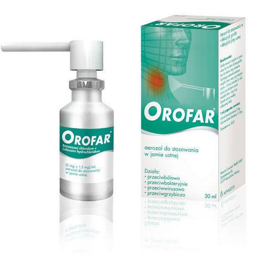 Orofar aer.do st.w j.ustnej 30 ml