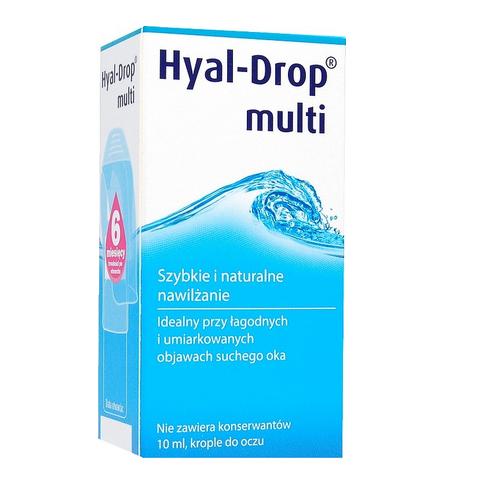 Hyal Drop Multi Krople d/oczu/soczew.10ml