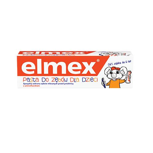 Pasta d/zęb.ELMEX dla dzieci 0-6 lat 50 g | Apteka internetowa, antyperspirant, avent, bioderma, bioliq, canpol, cera trądzikowa preparaty, dermokosmetyki, geriavit, grzybica leki bez recepty, himalaya, kreon, leki bez recepty, leki na grypę, leki na przeziębienie, leki na uspokojenie, mascara med., maxigra go, maxon, mensil, mugga, mustela, odchudzanie leki, odporność, pirolam, tabletki na ból gardła, test ciążowy, tran mollers, vichy, witamina d, wszy preparaty, zapalenie stawów, zestawy kosmetyków, ziaja
