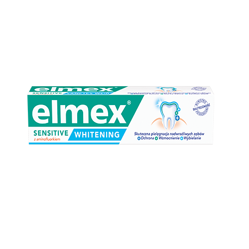 Pasta d/zęb.ELMEX SENSITIVE WHITENING 75ml   Apteka internetowa, antyperspirant, avent, bioderma, bioliq, canpol, cera trądzikowa preparaty, dermokosmetyki, geriavit, grzybica leki bez recepty, himalaya, kreon, leki bez recepty, leki na grypę, leki na przeziębienie, leki na uspokojenie, mascara med., maxigra go, maxon, mensil, mugga, mustela, odchudzanie leki, odporność, pirolam, tabletki na ból gardła, test ciążowy, tran mollers, vichy, witamina d, wszy preparaty, zapalenie stawów, zestawy kosmetyków, ziaja