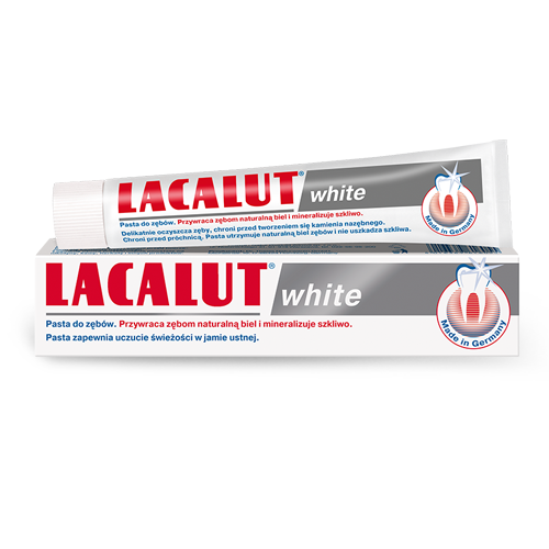 Pasta d/zęb.LACALUT wybiel. 75 ml