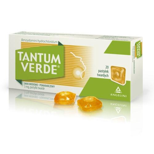 Tantum Verde smak miodowo-pomarańczowy 30t