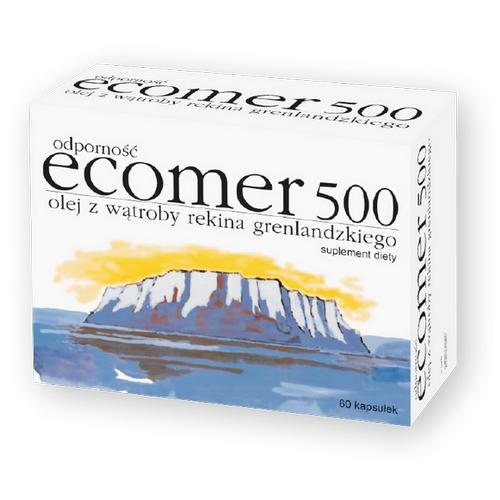 Ecomer Odporność 500 kaps.elast. 60kaps.