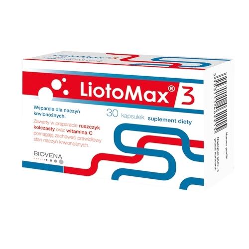 LiotoMax 3 kaps. 30 kaps.