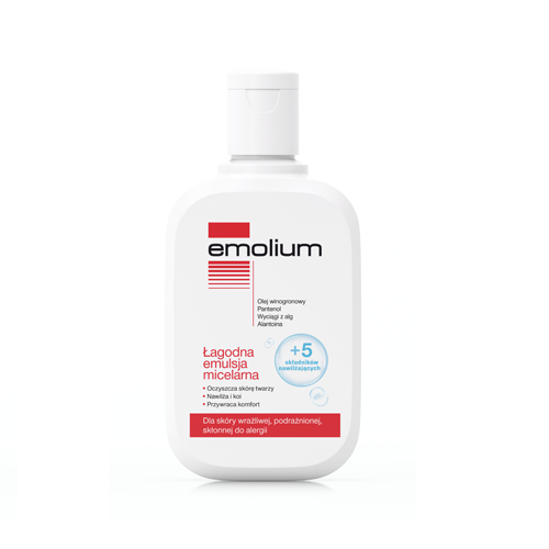 EMOLIUM Emulsja micelarna 250 ml