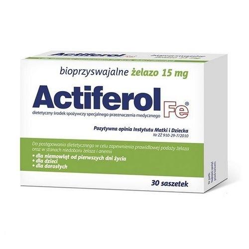 Actiferol Fe 15 mg saszet. 0,015g 30sasz.