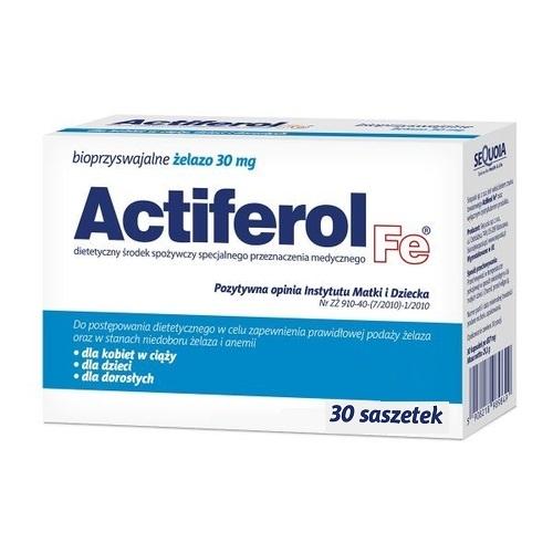 Actiferol Fe 30 mg saszet. 0,03 g 30 sasz.
