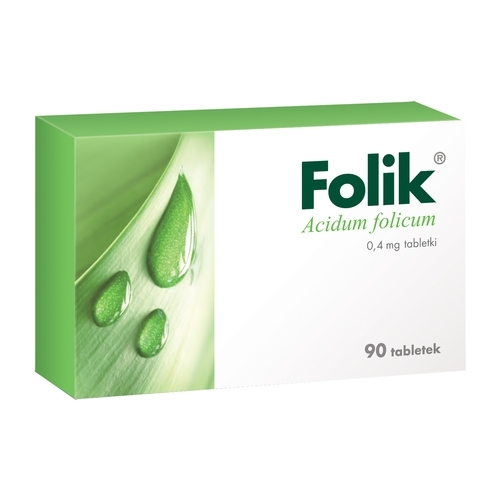Folik tabl. 0,4 mg 90 tabl.