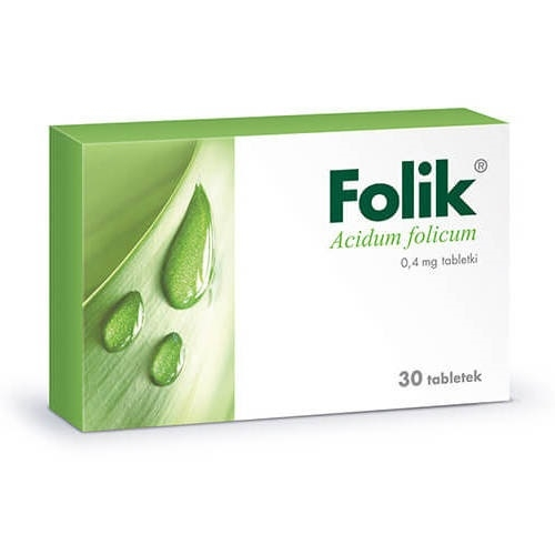 Folik tabl. 0.4 mg 30 tabl.