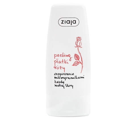 ZIAJA RÓZANY Peeling z mikrogranulk. 60 ml