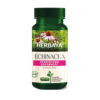HERBAYA Echinacea odporność 60 kaps.