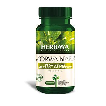 HERBAYA Morwa biała metabolizm 60 kaps.