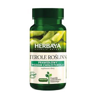 HERBAYA Sterole rośl.cholesterol 60 kaps.