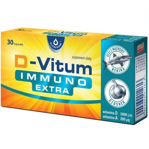 D-Vitum IMMUNO EXTRA kaps. 30 kaps.
