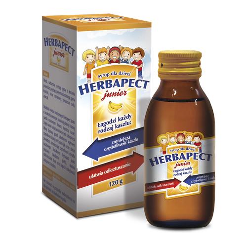 HERBAPECT JUNIOR Syrop o sm.banan.100 ml