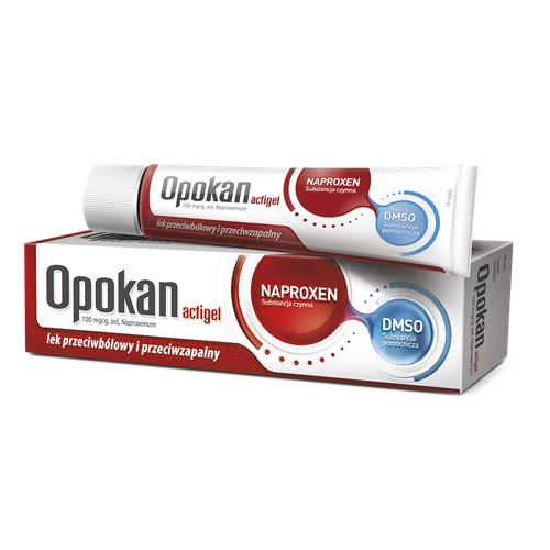 Opokan Actigel żel 0,1 g/g 50 g (tuba)
