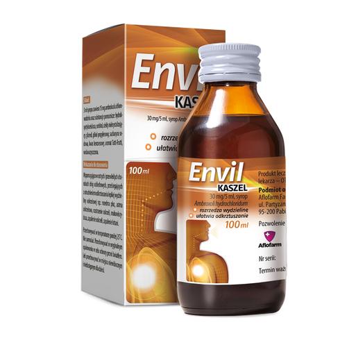 Envil kaszel 0,03g/5 ml syrop 100 ml